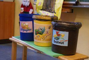 Unsere Mülleimer
